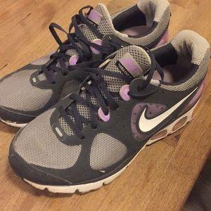 Purple Nike Air Max Sneakers